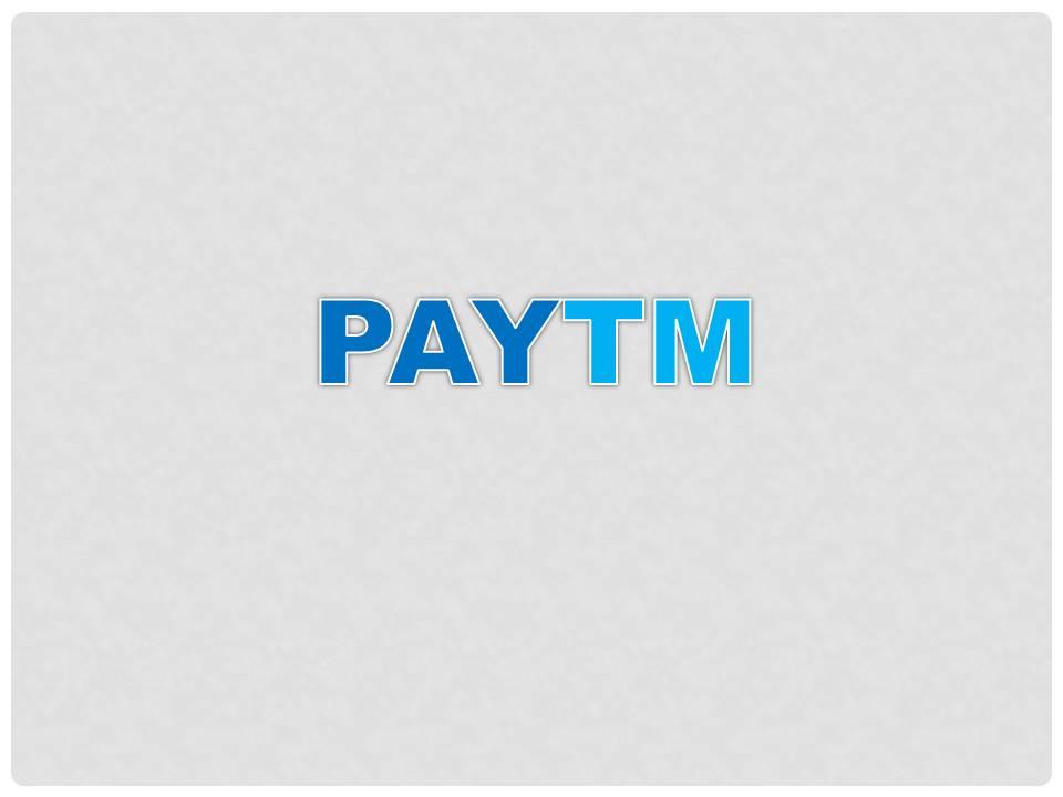 Read more about the article PayTm ke mukhy menoo vikalp ka spashteekaran