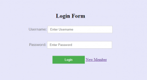 Simple Login and Registration Form in html and css