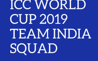 Team India for Icc world cup 2019